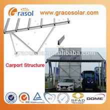 New Design Solar Mounting System--Carport Installed