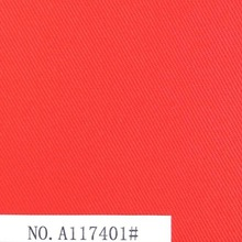 Solid color 100% cotton twill with heavy weight fabric for garment factory