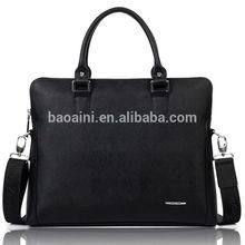 Wholesale high-end fashion briefcase genuine leather men shoulder bag messenger bag