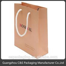 Nouveau design papier d'emballage sacs chine fabrication