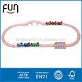 Kid brinquedos de madeira toy alta qualidade de madeira sucata comboio ferroviário AT11656