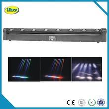China Golden Supplier!High quality!! 8pcs 10W RGBW LED Moving Head Bar Beam Light