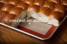 Food grade baking sheet silicone baking mat fibreglass mesh nonstick reusable flexible