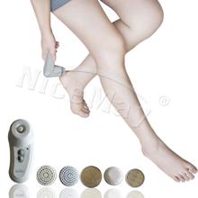 Elettrici per la cura del piede Kit/pelle di rimozione del callo 5 in 1