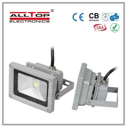 High quality outdoor ip65 12v 10w rechargeable led flood light