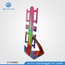 cardboard paper display stand for watch holder in store for promotion