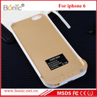 Newest 3200MAH super thin external extended battery case for iphone6