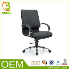 OP-B031 Medium Back Aluminium Base Rotating Staff Office Chair