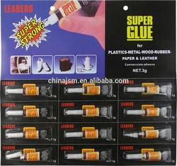 Household 502 super glue 3g/blister package
