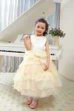 China wholesale sleeveless maxi satin wedding dress bridal gown for girl