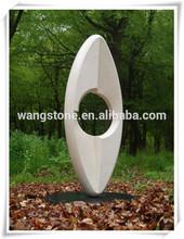 New product custom decorative garden marble wisdom eye stone sculpture