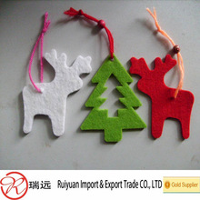 2014 New Arrival Popular polyester felt christmas decoration