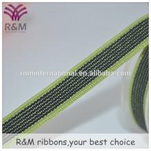 Ruibeis Stripe jacquard elastic webbing/nylon webbing