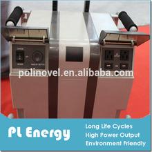 Outdoor storage/distribution center portable storage solar system 1200W