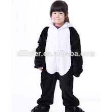 New lovely children boys & girls Pajamas kids Anime Cosplay Costume cartoon Panda Sleepwear