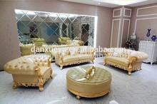 Throne Sofa furniture , Royal furniture , Danxueya Factory Carved Leather Sofa