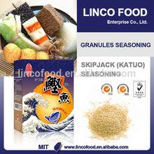Listado de condimento((katuobushi, bonito))( gránulos) sopa en polvo