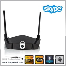 Прочный и качество XBMC / dlna-плеер android-3g / WIFI 4.4 телевизор коробка 2160 P веб-камера из