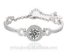 Bridal Jewelry 925 Silver Jewelry Bracelet Valentine Gift Silver Bracelet