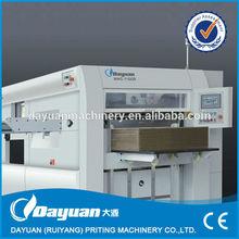 MHC-1500B use for all kinds of paperboard, corrugated paper die cutting machine / semi-automatic die cutting machine
