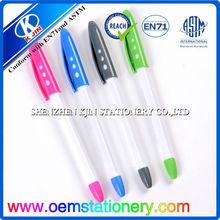 14 m promotional plastic ball pen/wholesale ball pen