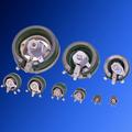 wx керамических стекловидные эмалированные регулируемый резистор