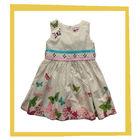 new arrival butterfly print children girl dress,kids girls dress