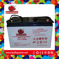 Top quality deep cycle 24v 12v 100ah gel battery