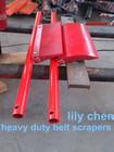 Heavy Duty Mining Belt Conveyor With Belt Cleaner/Conveyor Belt Cleaner of Aluminium and Polyurethane
