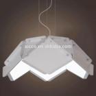 china supplier black white silver metal and acrylic pendant lighting led lighting