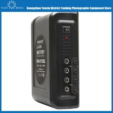 Professional battery li-ion camcorder multi-function v mount battery V160L 11000mAh with 4 voltage output for Sony Pansonic