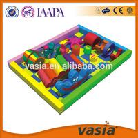 Kids soft indoor playground plastic playsets