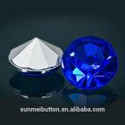 Clear Crystal Point Back Plastic Acrylic Diamond Decoration