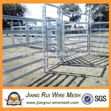 2014 Australia Farm World Exibition galvanized pipe cattle corral panels manufacture