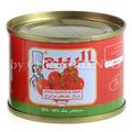 حار بيع معجون الطماطم المعلبة مزدوجة تتركز 70g 4500g إلى
