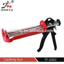 TF-G002 Zhejiang good quality double cartridges caulking gun