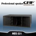 dual grf 21 polegadas subwoofer falante para venda