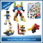 112pcs plastic building connector toys