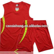 2014 newest mens reversible basketball uniform/wear