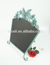 Antique stand for metal menu blackboard