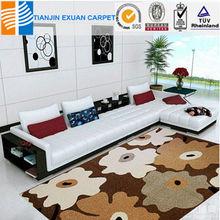 Stuffer box polypropylene carpet