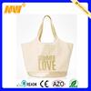 Wholesale newest style beach bag custom canvas leather