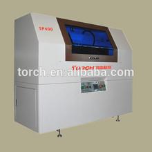 SP400 Full automatic inline online SMT stencil Screen printer printing machine