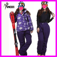 Custom New design high performance snowboard womens ski suits one piece/girls ski suits one piece/ladies one piece ski suit
