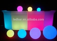 LED bar counter Illuminated modern counter use in bar and night club