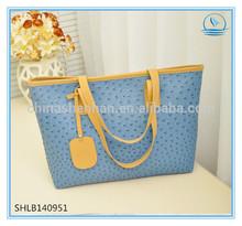 2014 women's handbag fashion plaid women's handbag Lady Tote Bag