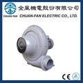 Chuan- ventilador tb100-1 0.75kw 1hp 50/60hz 2 pólo ce iec ul ventilador centrífugo e indústrias de bebidas de escape de alimentos a vácuo taiwan