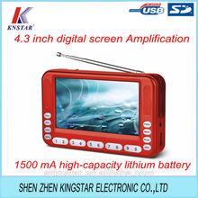 fm radio digital screen Amplification