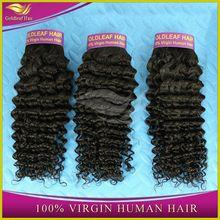 unprocessed virgin 100% brazilian hair clip-on hair extension wholesale distributors