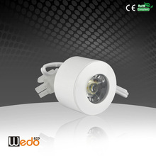 Replacement Super Mini Saving Energy Style High Lumen Cree WD-CB02 Led Cabinet Puck Light ,Recessed Mounted LED Lamp 1W 12V DC